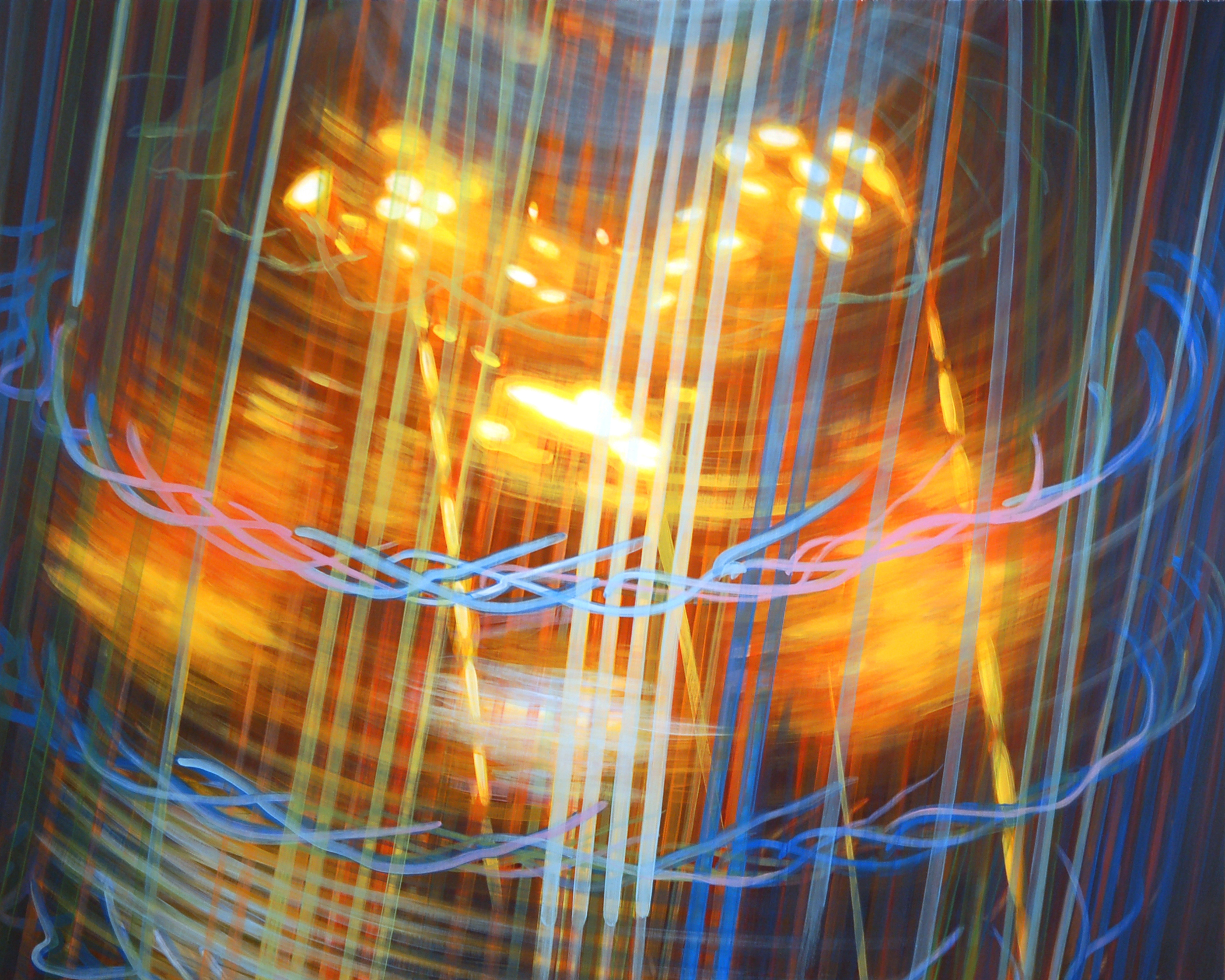 Body of Light I 2009 acrylic on board 36x45in