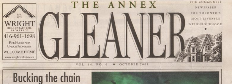 Gleaner 2008 Article