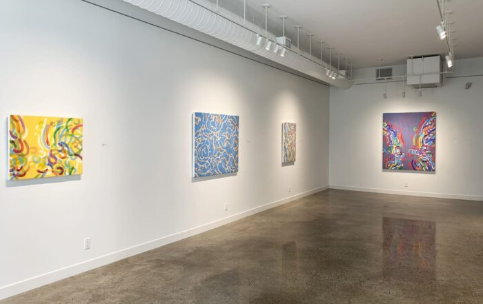 Installation view 2 of Blueprint show at Metivier Gallery, Toronto