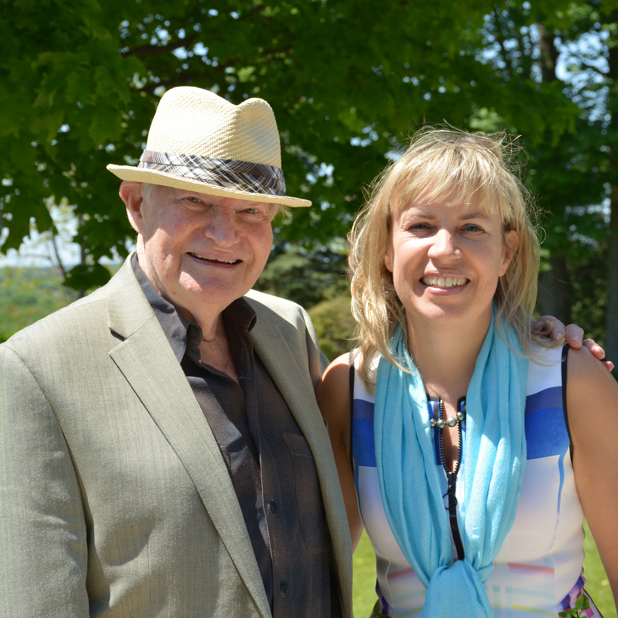Morden Yolles and Katharine Harvey